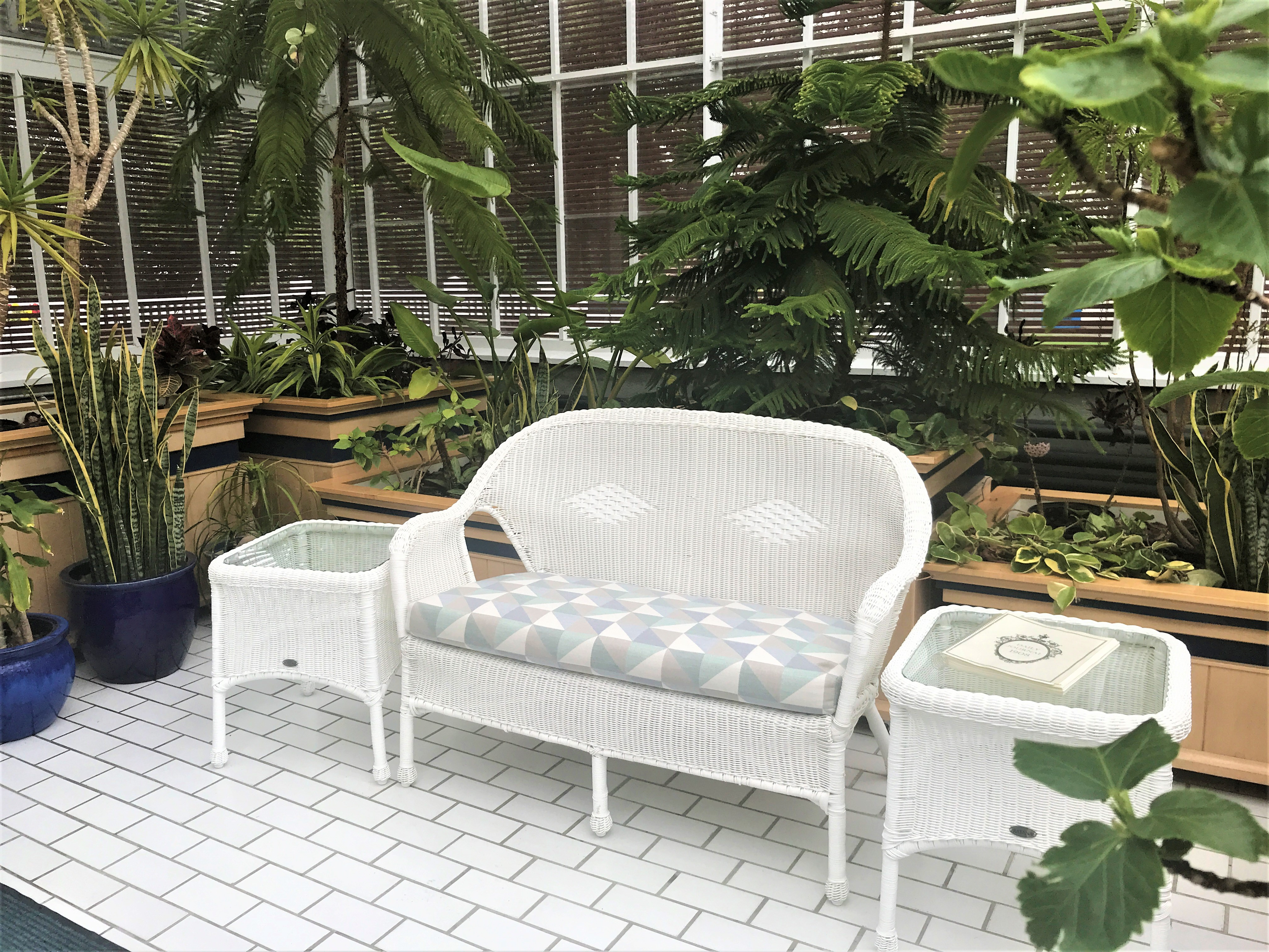 New Furniture in Conservatory
