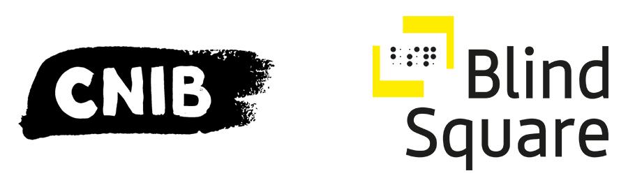 CNIB BlindSquare Logo